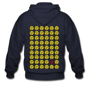 Multiple 45's v.1 - Men's Zip Hoodie