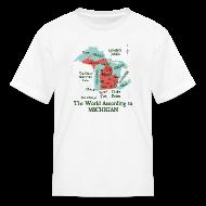 Kids' Shirts ~ Kids' T-Shirt ~ The World According to Michigan