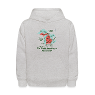 Sweatshirts ~ Kids' Hoodie ~ The World According to Michigan