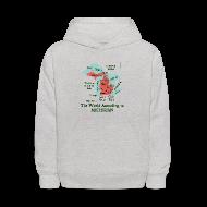 Sweatshirts ~ Kids' Hoodie ~ The World According to Michigan