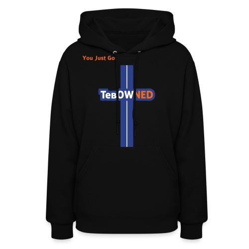 Tebow Tribute - TebOWNED Crucifix - Womens Hoody - Women's Hoodie