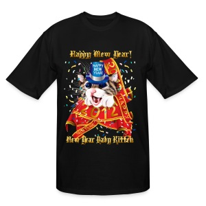 Happy New (Mew) Year 2012 - Men's Tall T-Shirt