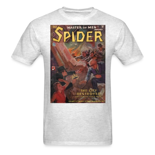 The Spider January 1935 - Men's T-Shirt