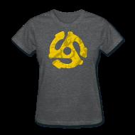 T-Shirts ~ Women's T-Shirt ~ 7 Inch Superhero v.1