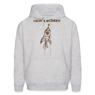 Hoodies ~ Men's Hoodie ~ I Got a Rocket