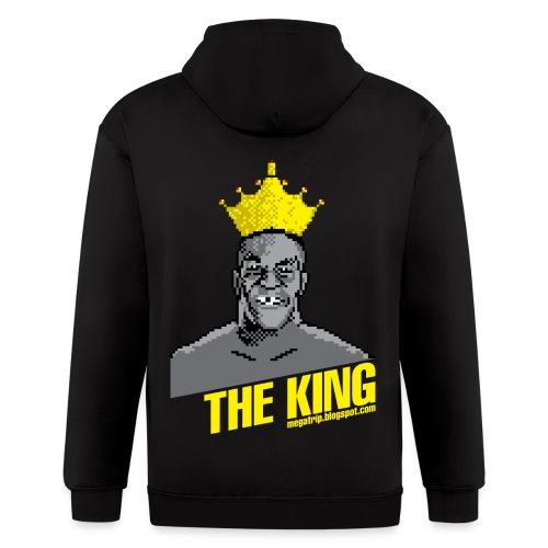 King Megatrip's Punch-Out (Dark) - Men's Zip Hoodie