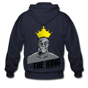 King Megatrip's Punch-Out (Light) - Men's Zip Hoodie