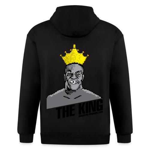 King Megatrip's Punch-Out (Light) - Men's Zip Hoodie