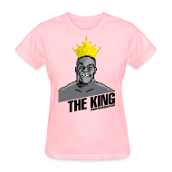 T-Shirts ~ Women's T-Shirt ~ King Megatrip's Punch-Out (Light)