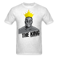 T-Shirts ~ Men's T-Shirt ~ King Megatrip's Punch-Out (Light)