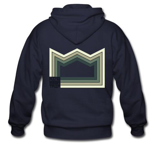 Heaven of Green Jade - Crown - Men's Zip Hoodie