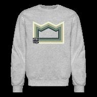 Long Sleeve Shirts ~ Crewneck Sweatshirt ~ Heaven of Green Jade - Crown