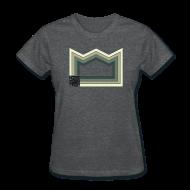T-Shirts ~ Women's T-Shirt ~ Heaven of Green Jade - Crown