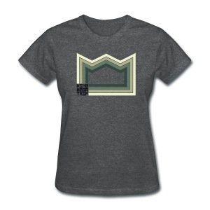 Heaven of Green Jade - Crown - Women's T-Shirt