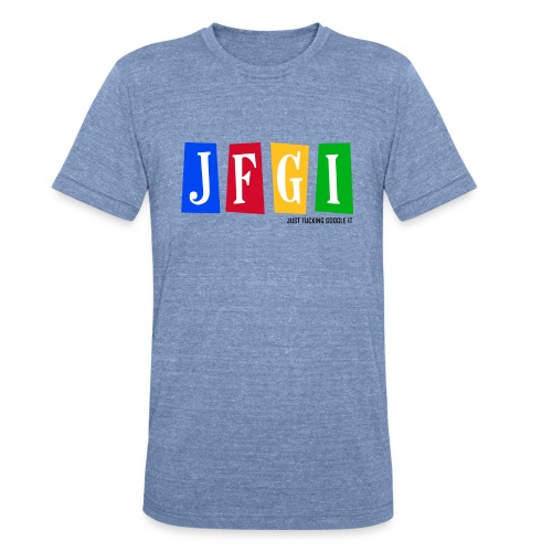 Just F@#king Google It Men's Vintage Tee - Unisex Tri-Blend T-Shirt