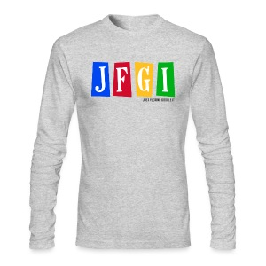Just F@#king Google It Men's American Apparel Long Sleeve Tee - Men's Long Sleeve T-Shirt by Next Level