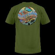 T-Shirts ~ Men's T-Shirt by American Apparel ~ 1969 mvyradio (on back)