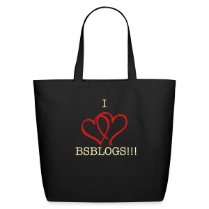 BSBLOGS Love - Eco-Friendly Cotton Tote