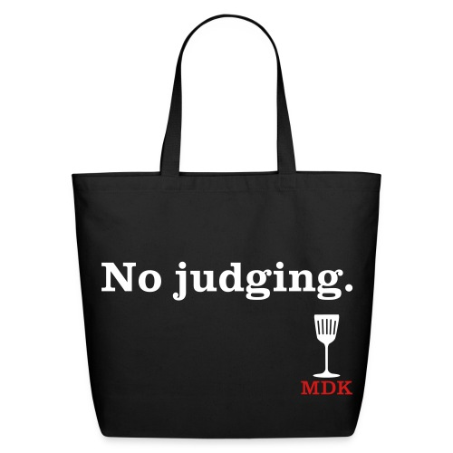 No Judging - Eco-Friendly Cotton Tote