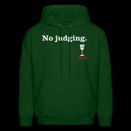 Hoodies ~ Men's Hoodie ~ No Judging