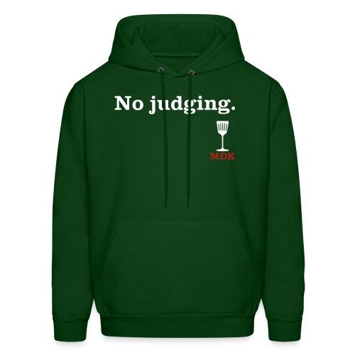 No Judging - Men's Hoodie