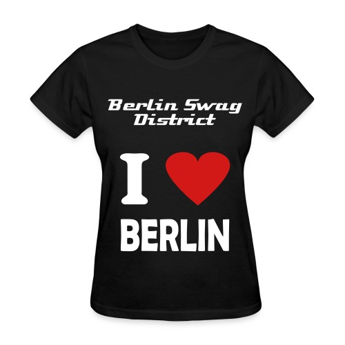 I Love Berlin (womens) - Women's T-Shirt
