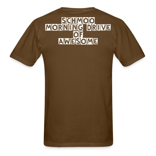 Schmoo Morning Drive Of AWESOME - Men's T-Shirt