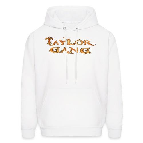 White Taylor Gang Flame Hoodie - Men's Hoodie