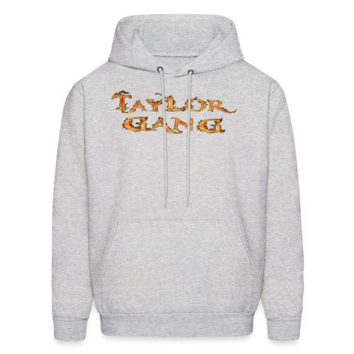 Grey Taylor Gang Flame Hoodie - Men's Hoodie