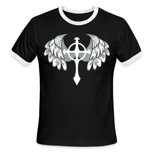 Wings from the Cross  - Men's Ringer T-Shirt