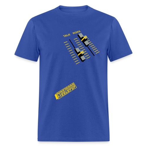 Less Talk More Rokk Unisex Tee - Men's T-Shirt