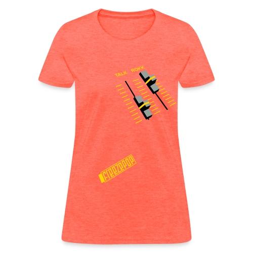 Less Talk More Rokk Girly Tee - Women's T-Shirt