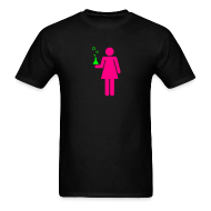 T-Shirts ~ Men's T-Shirt ~ Science Genius Girl Unisex Tee