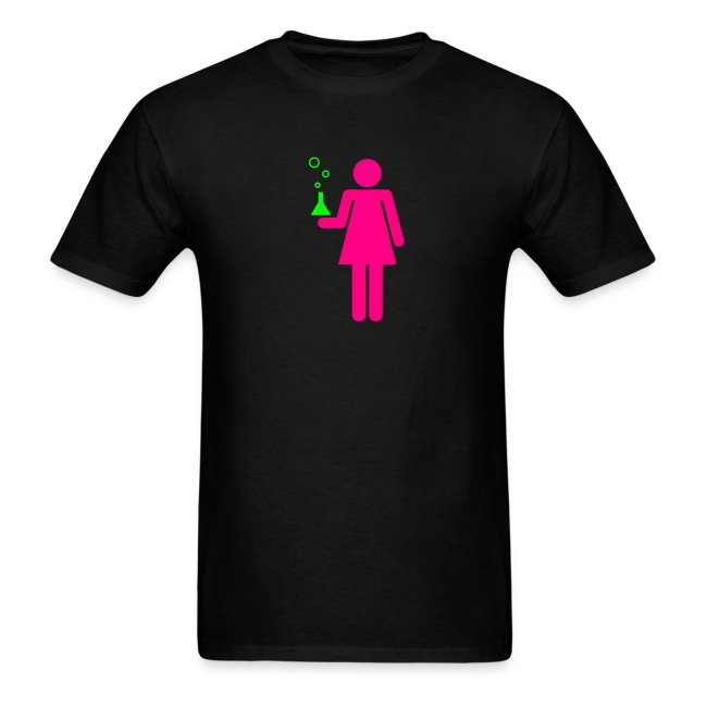 Science Genius Girl Unisex Tee