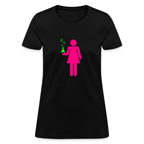 Science Genius Girl Girly Tee - Women's T-Shirt