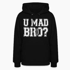 U Mad Bro? Hoodies - stayflyclothing.com
