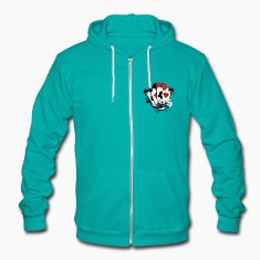 Card game hearts, spades, diamonds, clubs with dice and tokens Zip Hoodies/Jackets