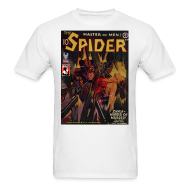T-Shirts ~ Men's T-Shirt ~ The Spider Nov 1942 Zara - The Murder Master