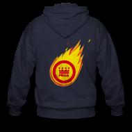 Zip Hoodies & Jackets ~ Men's Zip Hoodie ~ The Fantastic Fireball