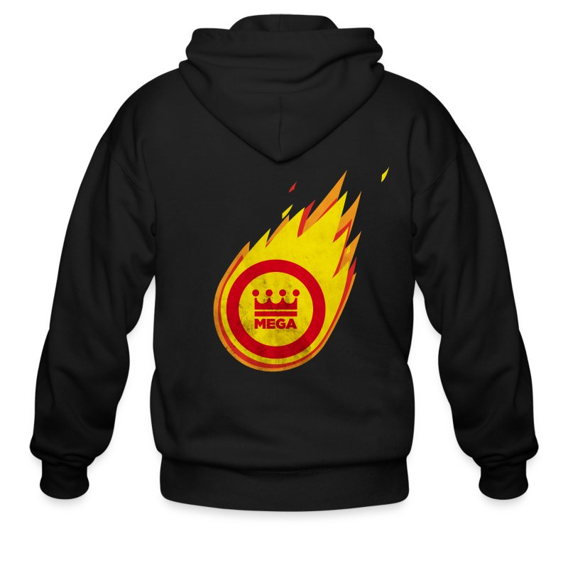 The Fantastic Fireball - Men's Zip Hoodie