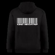 Zip Hoodies & Jackets ~ Men's Zip Hoodie ~ Megatrip Barcode
