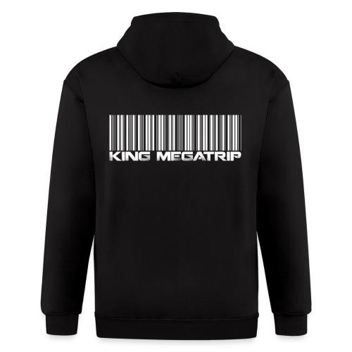 Megatrip Barcode - Men's Zip Hoodie
