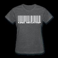 T-Shirts ~ Women's T-Shirt ~ Megatrip Barcode
