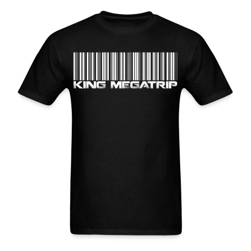 Megatrip Barcode - Men's T-Shirt