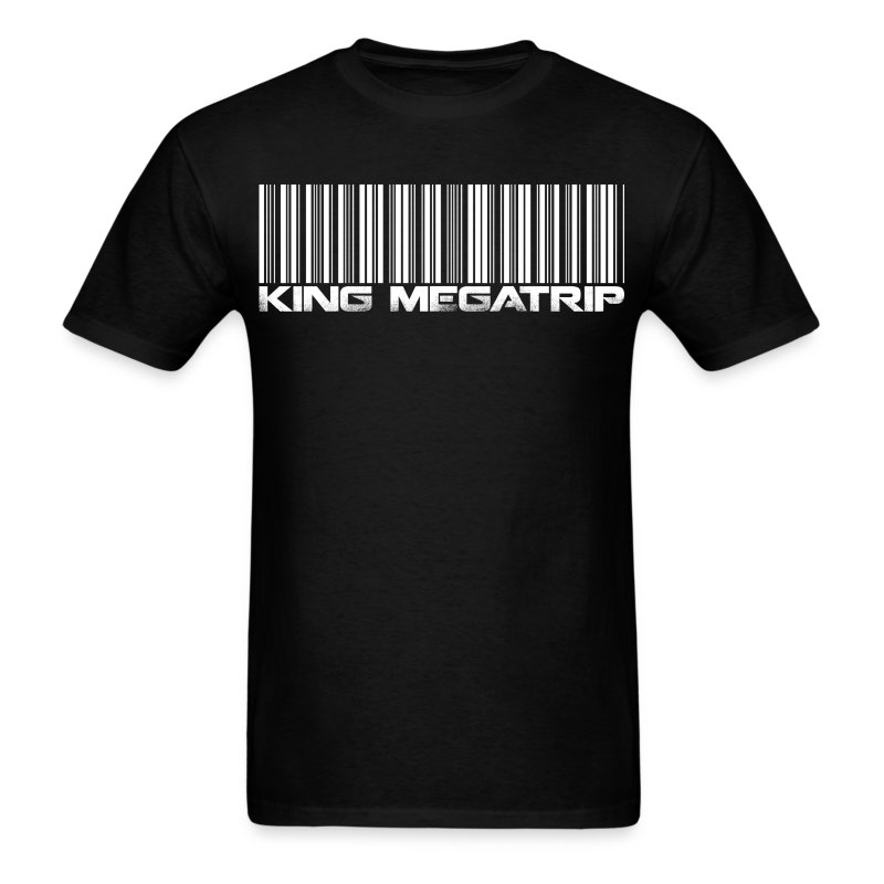 Megatrip Barcode - Men's T-Shirt