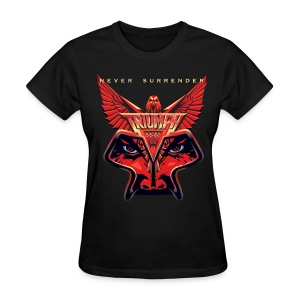 Ladies Never Surrender Tee - Women's T-Shirt