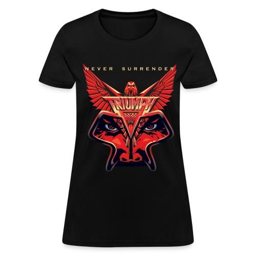Ladies Never Surrender Tee - Women's T-Shirt
