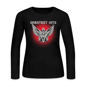 Ladies Greatest Hits Long Sleeve Tee - Women's Long Sleeve Jersey T-Shirt