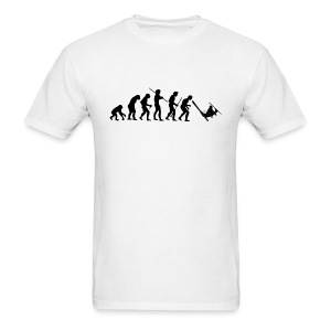 Evolution Skiing Black - Men's T-Shirt