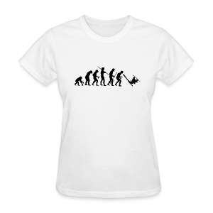 Evolution Skiing Black - Women's T-Shirt